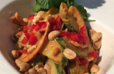 Thai Peanut Cucumber Salad