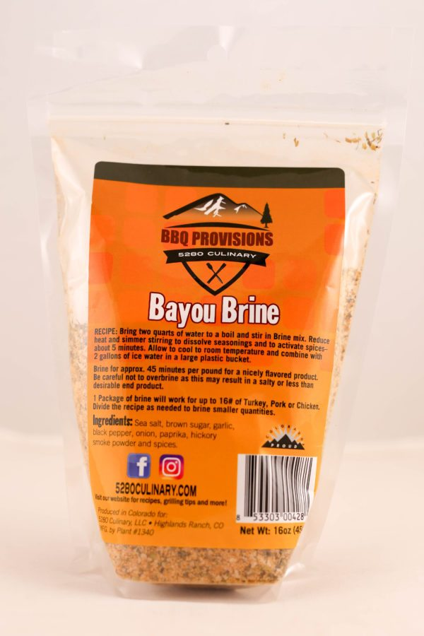 BAYOU BRINE