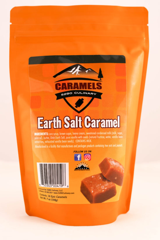 5280 Culinary Earth Salt Caramels