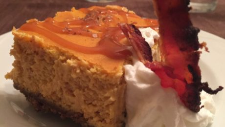 Pumpkin Smoked Salt Cheesecake