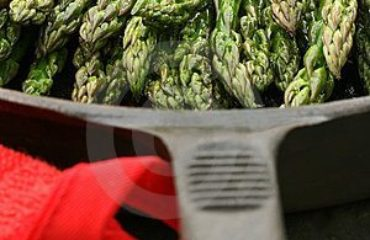 5280 Culinary Recipe Cast Iron Asparagus