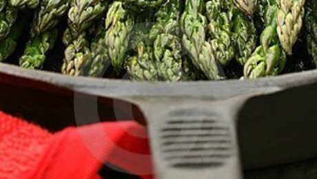 5280 Culinary Recipe Cast Iron Asparagus