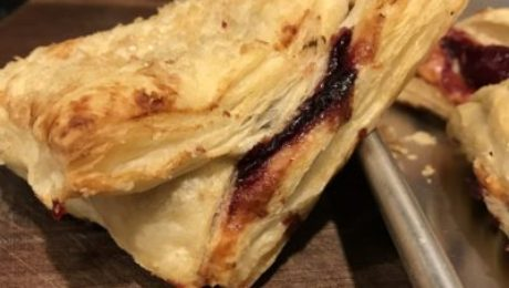 Smoked Cherry Turnovers