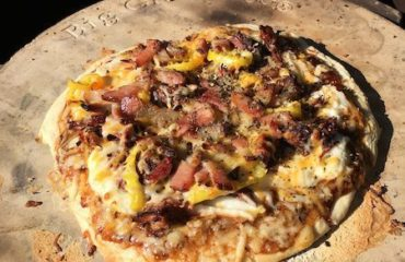 Big Green Egg Pizza