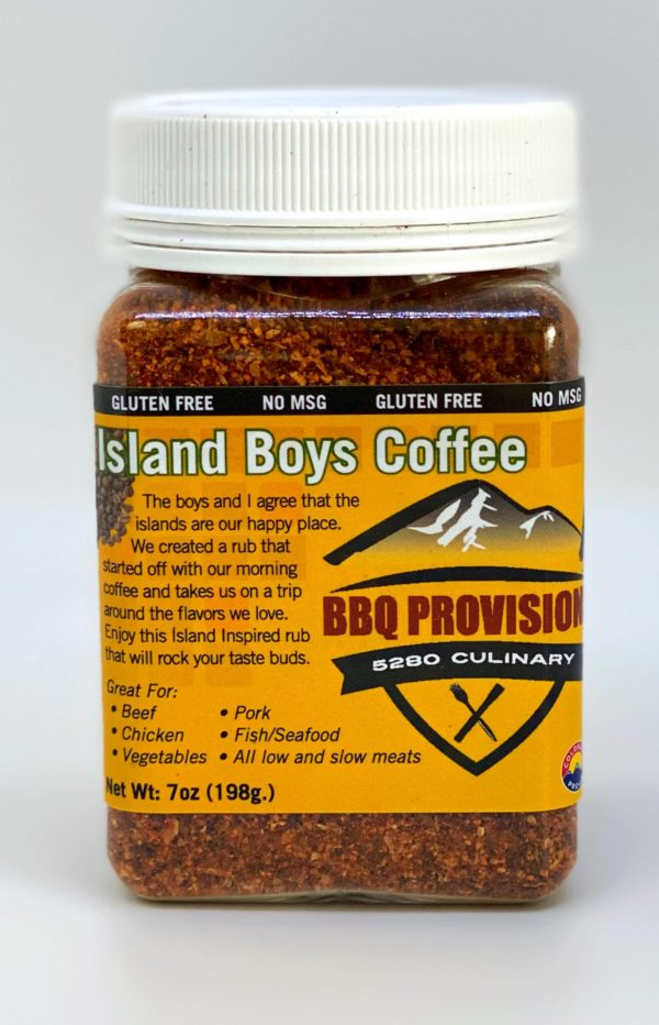 Island Boys Coffee Rub